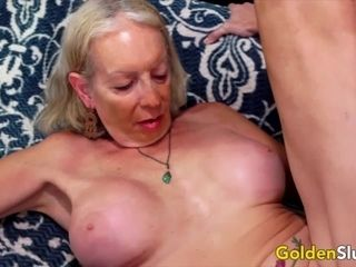 Golden Slut In Love With a Grandma Compilation