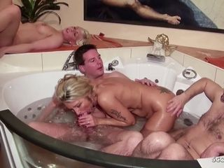 Mommy and Step daughter-in-law at Pool gang Swinger intercourse German