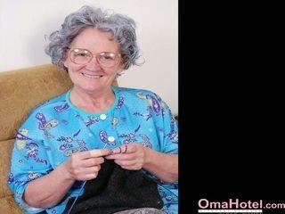Oma motel Got Some fucktoys for naughty senior grandmothers