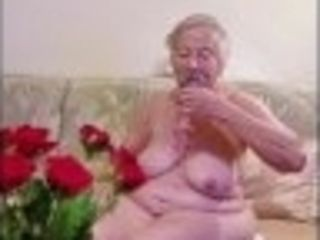 """""""OmaGeiL Nearly Hundred Years Old Grandma Naked"""""""