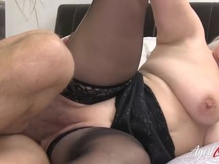 AgedLovE Busty Mature Showing Her Nudes