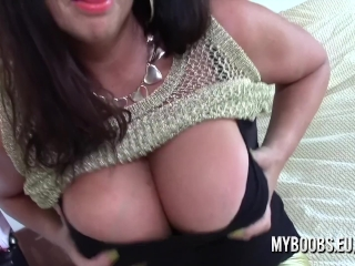 Big-titted milf Lulu chubby jack and Jerk Off Instructions