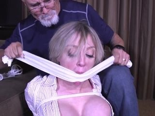 Super-naughty Mature active In restrain bondage joy - cougar restrain bondage & discipline