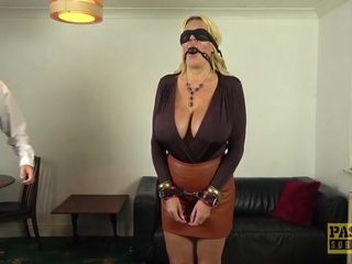 PASCALSSUBSLUTS Busty British MILF Shannon Boobs Dominated