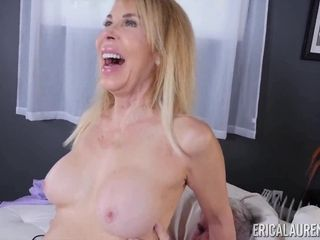 A gravely doable milf - pink cigar blowing grandma porno vid