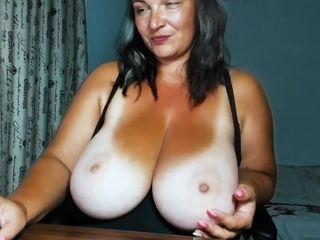 steamy bounce tits - Amateur MILF solo