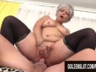 """""""Golden Slut - Mature Babes Who Love Being on Top Compilation"""""""