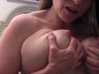 Hot MILF Seduces Her Son's Friend (Solo Masturbation)
