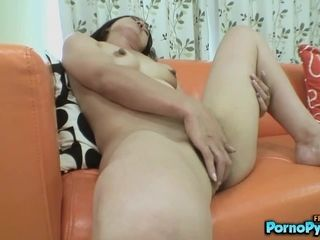 Japanese Granny Chiyo Yamabe Sucks A Little Asian DIck