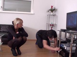 Nylon Girls Humiliate Slaves - Femdom Porn