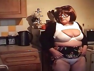 British Upskirt Panty Pervert uses Leena the shy dinner lady