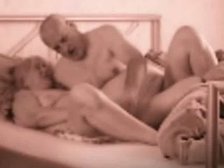 Fingering and fucking my hot old wife's pussy homemade video