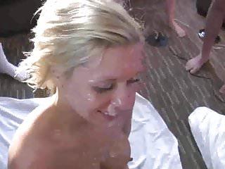 Unskilled join in matrimony Bukkake plus ribbon burgeon deception - PolishCollector