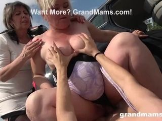 """""""Two grandmothers Just screwed Me in Public!"""""""