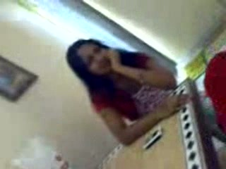 Cute Mumbai college lovers filming their sex in hotel room