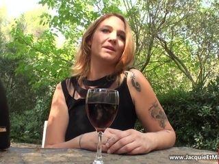 amateur MILF Sarah Double Anal Scene