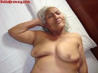 Impressive special mexican granny Nudes slips