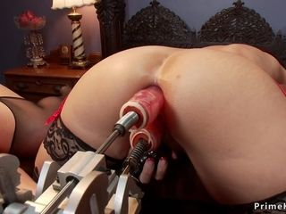 Stunning busty tits assfuck moms nail machines