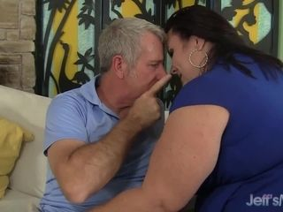 The Premium bbw practice with blinding Mature doll Lynn