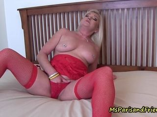 Mother drains as Her sons-in-law see