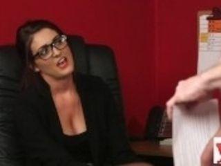 """""""Spex stunner sees female dom dork wank"""""""