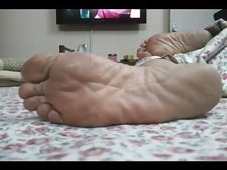 Mature feet indian