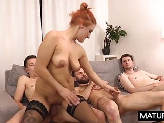 Polish MILF - Izabella Lis - Fucking mom anally