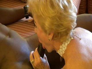 Grandmother Gives finest oral job