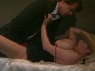 Very emotional classical wifey gets her enormous honeypot pulverized missionary