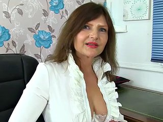 French milf chloe pleasures will not hear of pantyhosed pussy