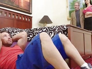 Hot Wife Cheats On Hubby With Her Stepson!