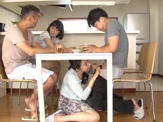 Bizarre elderly and youthful japanese activity with bizarreo mature