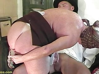 Crimson thicket moms first-ever raunchy anal invasion orgy