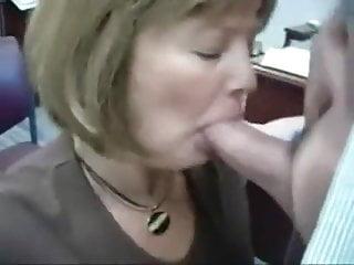 Real Secretary Eats Cum From Her Boss