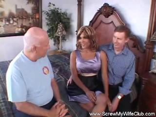 Mrs. Latina Is A Swinger Slut