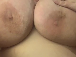 Big tits and big clit and pussy lips closeup blonde pussy bbw