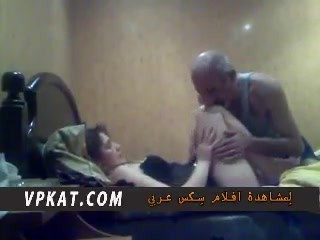 ARAB - OLD MAN with her Office Colleuge - vpkat.com