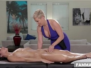 Open Minded Step stepdaughter Gets a rubdown - Ryan Keely and Emily Willis