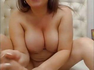 Vanesa have fun with fake penis and jism