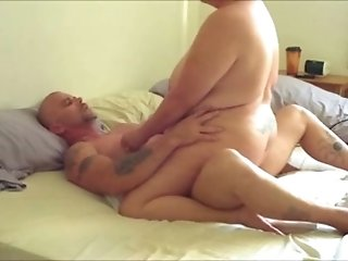 BBW white housewife bounces on my cock with her enormous ass
