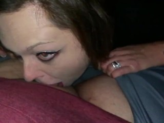 Deep throating cougar