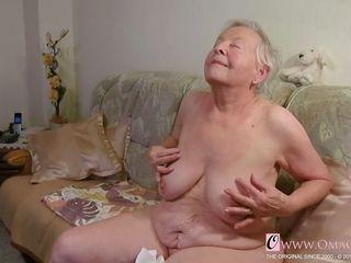OmaGeiL Real grannie fleshy poon close-up movie
