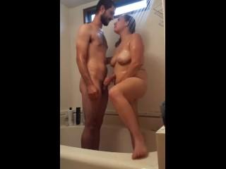 Hidden camera shower time)