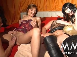 MMV Films German lesbos swinger gang penetrating